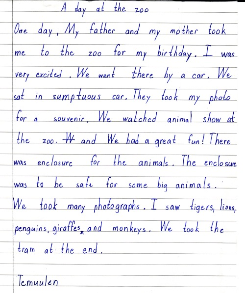 a day in the zoo short essay Big essay catalogue of essay samples from essayzooorg essay zoo custom essay сontact us blog sign in sign in essay zoo sign in analyze short -term.